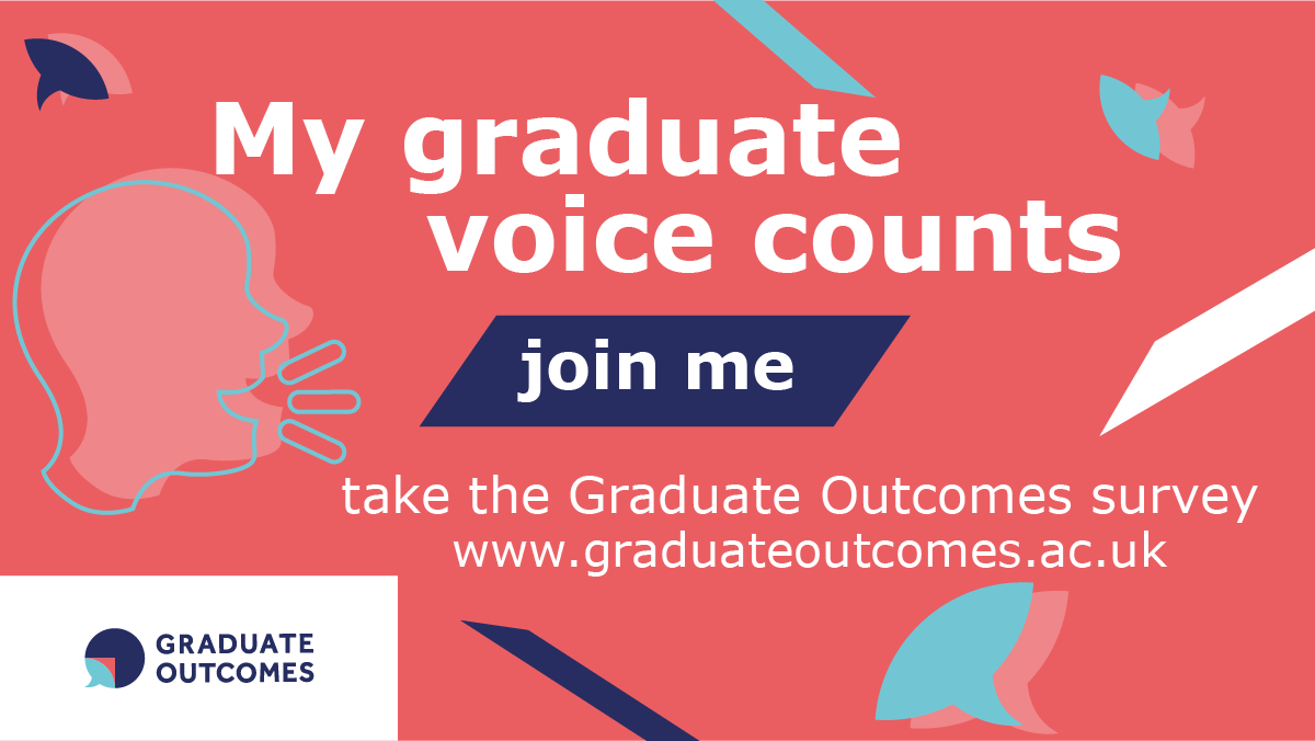 My graduate voice counts image in English for Twitter